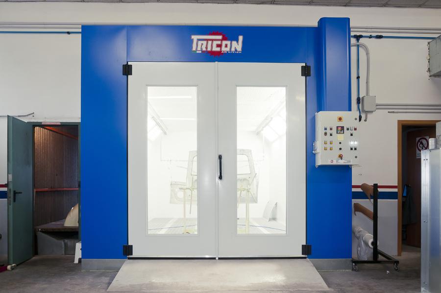Verniciatura carrozzerie industriali - Tricon